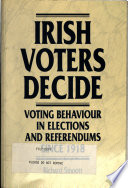 Irish Voters Decide And Referendums Since Independence In 1922 By