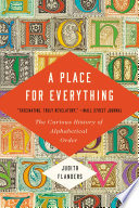 A Place for Everything Book PDF