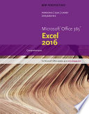New Perspectives Microsoft Office 365   Excel 2016  Comprehensive