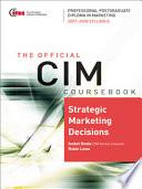 Strategic Marketing Decisions 2007 2008