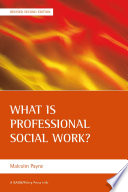 What is Professional Social Work