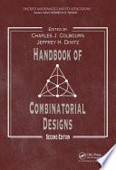 Handbook of Combinatorial Designs  Second Edition