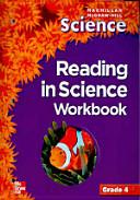 SCIENCE GRADE  4 WORKBOOK  MACMILLAN MCGRAWHILL