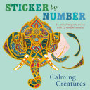 Sticker by Number  Calming Creatures