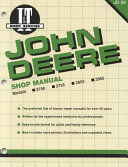John Deere Shop Manual 2750 2755 2855 2955
