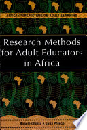 Research Methods for Adult Educators in Africa