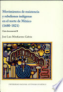 download ebook movimientos de resistencia y rebeliones indígenas en el norte de méxico (1680-1821) pdf epub
