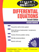 Schaum s Outline of Theory and Problems of Differential Equations