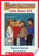 Karen s Secret  Baby Sitters Little Sister  33