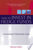 How to Invest in Hedge Funds