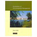 Economics of Environmental Management