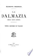 La Dalmazia  romana  veneta  moderna