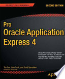 Pro Oracle Application Express 4