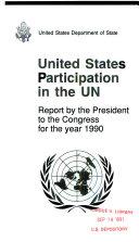U S  Participation in the UN