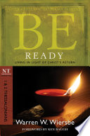 Be Ready  1   2 Thessalonians