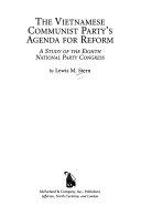 The Vietnamese Communist Party's Agenda for Reform