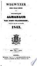 Wegwyzer der stad Gend en provintialen almanach van Oost-Vlaenderen
