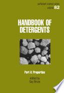 Handbook of Detergents