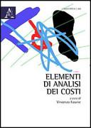 Elementi di analisi dei costi