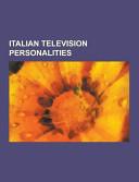 Italian Television Personalities