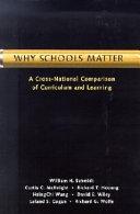 Why schools matter