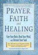 Prayer  Faith  and Healing