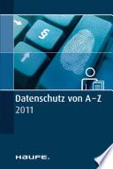 Datenschutz von A   Z