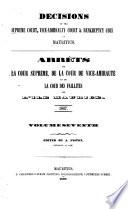 Arrêts de la Cour Suprème, de la Cour de Vice-amirauté, Et de la Cour Des Faillites de L'ile Maurice