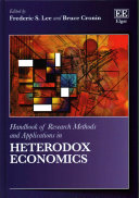 Handbook Of Research Methods And Applications In Heterodox Economics book