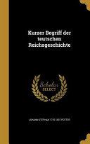 GER-KURZER BEGRIFF DER TEUTSCH