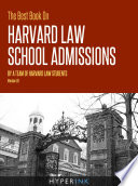 The Best Book On Harvard Law School Admissions