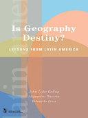 download ebook is geography destiny? pdf epub