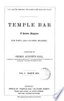 Temple bar  conducted by G A  Sala