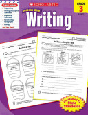Scholastic Success With Writing  Grade 3