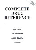The Complete Drug Reference
