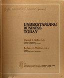 Understanding Business Today