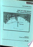 Main Channel Deepening Feasibility Study  Port of Long Beach