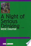 A Night of Serious Drinking