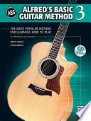 Alfred s Basic Guitar Method  Book 3