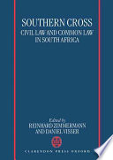 Southern Cross : south african private law, as...