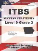 Itbs Success Strategies Level 9 Grade 3 Study Guide  Itbs Test Review for the Iowa Tests of Basic Skills
