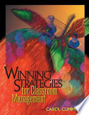 Winning Strategies for Classroom Management