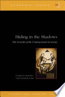 Hiding In The Shadows The Growth Of The Underground Economy Epub