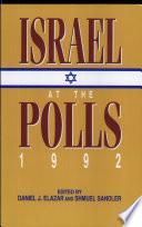Israel at the Polls  1992