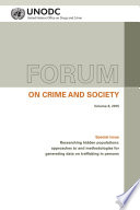 Forum On Crime And Society Vol 8 2015