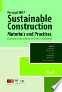 Portugal SB07 Sustainable Construction  Materials and Practices