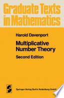 Multiplicative Number Theory Pdf/ePub eBook