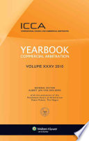 Yearbook Commercial Arbitration Volume Xxxv 2010 (Crc) Rev