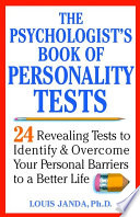 The Psychologist S Book Of Personality Tests