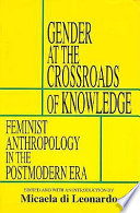 Gender at the Crossroads of Knowledge